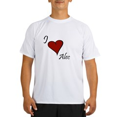 I love Alec Performance Dry T-Shirt