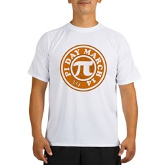 Happy Pi Day 3/14 Circular De Performance Dry T-Shirt
