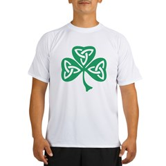 Celtic Shamrock Performance Dry T-Shirt