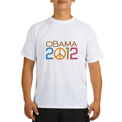 Obama 2012 Peace Performance Dry T-Shirt