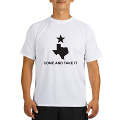 Come and Take It Slogan Performance Dry T-Shirt