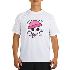 Baby Girl Skully Performance Dry T-Shirt