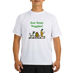 Eat Your Veggies! Performance Dry T-Shirt