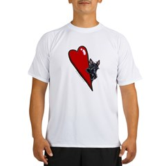 Pocket Scottie Lover Performance Dry T-Shirt