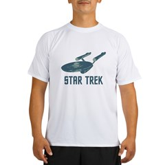 Retro Enterprise Performance Dry T-Shirt