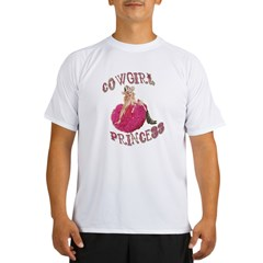 Cowgirl Princess Larger Performance Dry T-Shirt