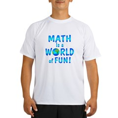 World of Math Performance Dry T-Shirt