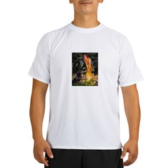 Fairies with Rottie Performance Dry T-Shirt