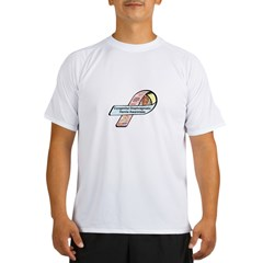 Landon Kenneth Harris CDH Awareness Ribbon Performance Dry T-Shirt