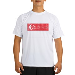 Singapore Flag Performance Dry T-Shirt