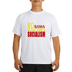 Barack Obama Knows Socialism Performance Dry T-Shirt