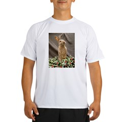 Christmas Bunny Performance Dry T-Shirt