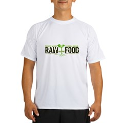RawFood_DARK_Background Performance Dry T-Shirt