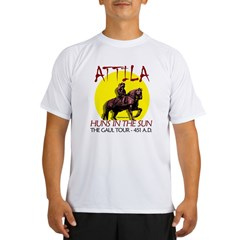 Attila 'Huns in the Sun' tour Ash Grey Performance Dry T-Shirt