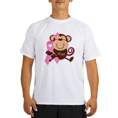 Monkey Cancer Hope Performance Dry T-Shirt