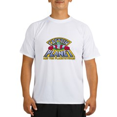 Captain Planet Logo Performance Dry T-Shirt