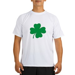St. Patrick's Day Shamrock Ash Grey Performance Dry T-Shirt