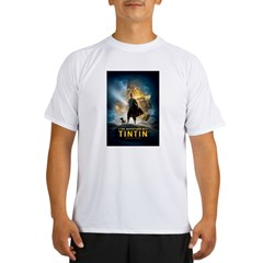 Tintin Movie Performance Dry T-Shirt