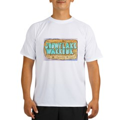 Snowflake Warrior Performance Dry T-Shirt