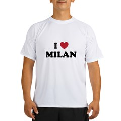 I Love Milan Performance Dry T-Shirt