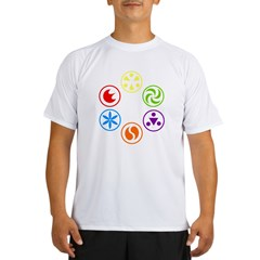 Legend of Zelda Spirit Medallions Performance Dry T-Shirt