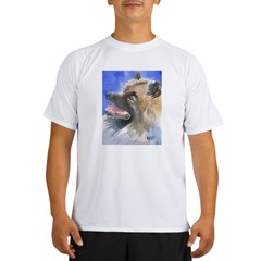 Keeshond Performance Dry T-Shirt