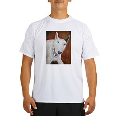 A Bull Terrier Ash Grey Performance Dry T-Shirt
