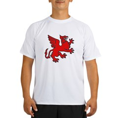 Red Griffin Performance Dry T-Shirt