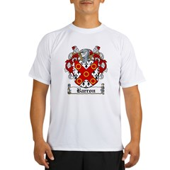 Barron Coat of Arms Performance Dry T-Shirt