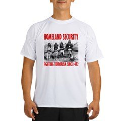 homelandsecurity_transparent2 Performance Dry T-Shirt