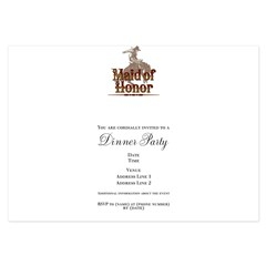 Made of Honor 3.5 x 5 Flat Cards