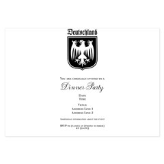 Germany Soccer - 3.5 x 5 Flat Cards