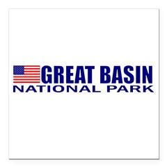 "Great Basin National Park Square Car Magnet 3"" x 3"""
