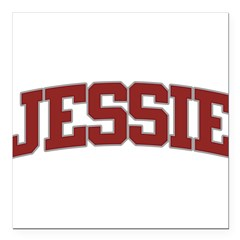 "JESSIE Design Square Car Magnet 3"" x 3"""