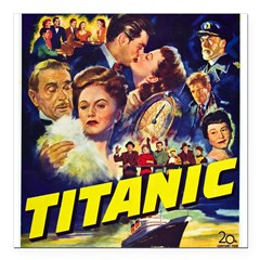 "$9.99 Titanic Movie Square Car Magnet 3"" x 3"""