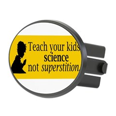 Teach your kids science Oval Hitch Cover