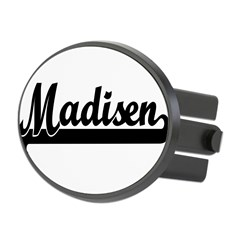 Black jersey: Madisen Oval Hitch Cover
