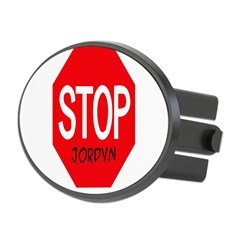 Stop Jordyn Oval Hitch Cover