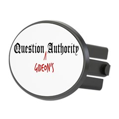 Question Gideon Authority Oval Hitch Cover