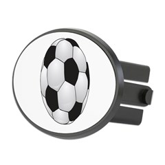 Soccerball II Oval Hitch Cover