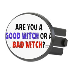Good Witch or Bad Witch? Oval Hitch Cover