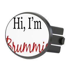 Hi, I am Brummie Oval Hitch Cover
