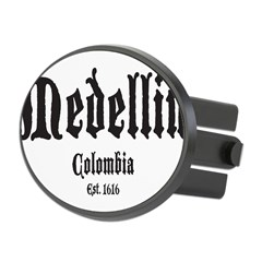 Medellin1 Oval Hitch Cover