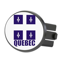 Quebec Oval Hitch Cover