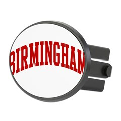 BIRMINGHAM (red) Oval Hitch Cover