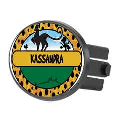 KASSANDRA - safari Oval Hitch Cover