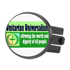UNITARIAN Oval Hitch Cover