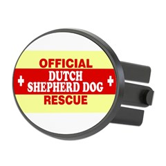 DUTCH SHEPHERD DOG Oval Hitch Cover