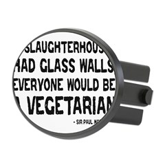 if slaughterhouses... Oval Hitch Cover