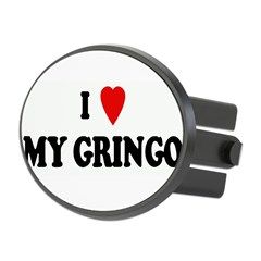 I Love MY GRINGO Oval Hitch Cover